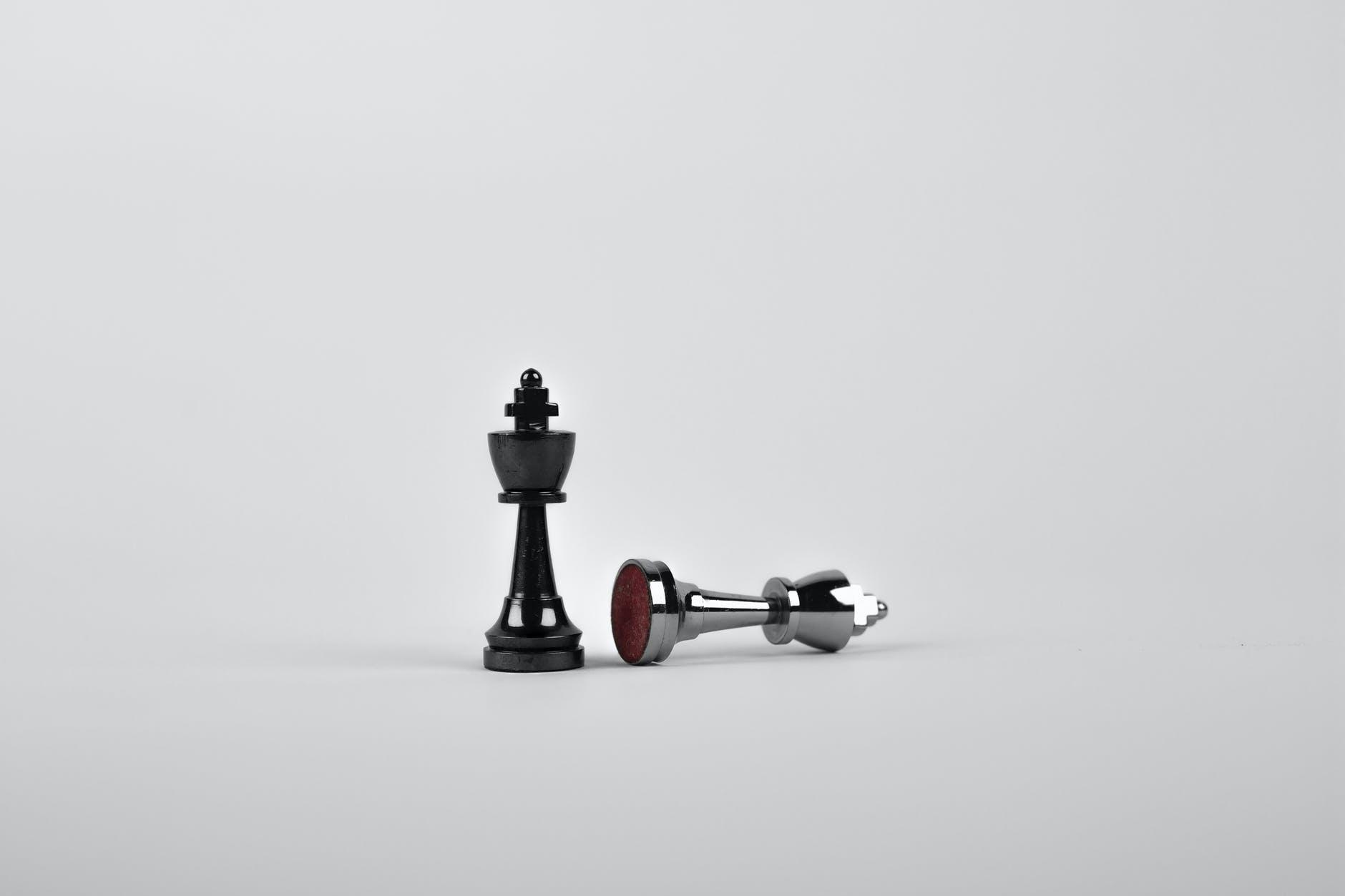 Mustavalkoinen shakkipeli