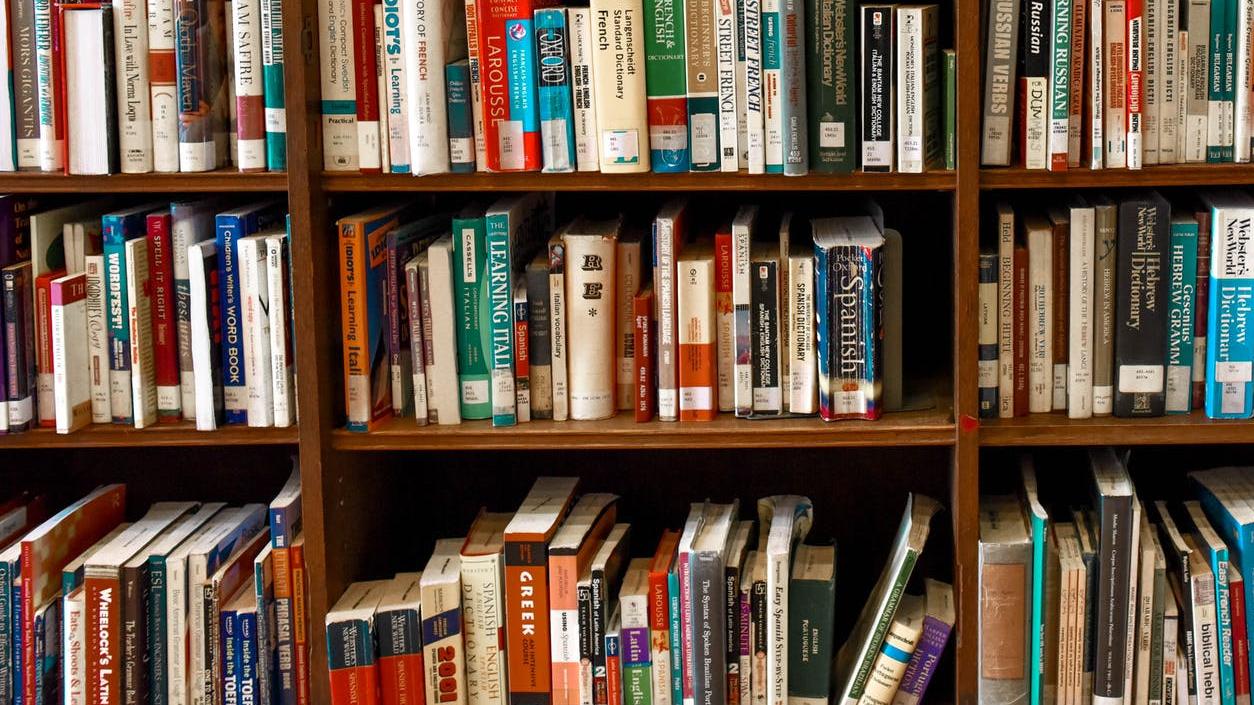 Kirjahylly kirjoja