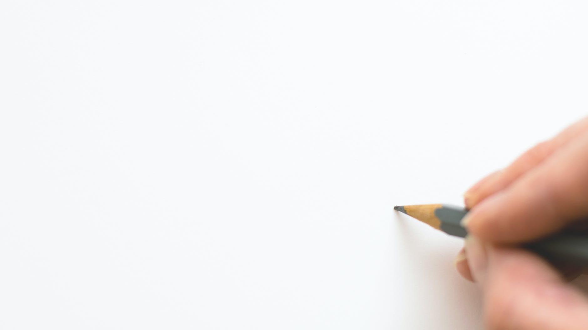 Kynä valkoinen papari