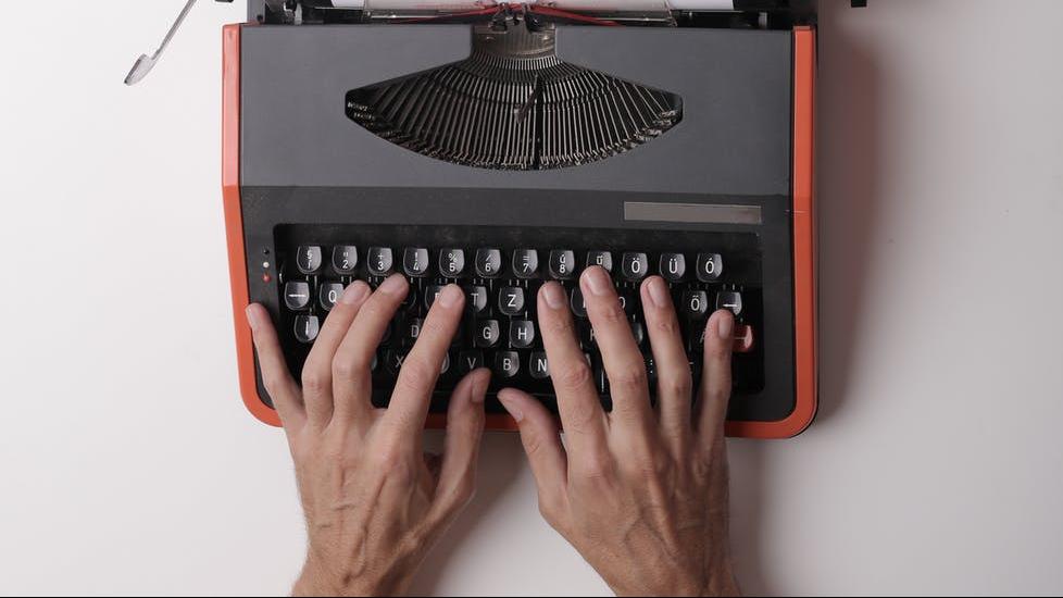 Kirjoittaja kirjoituskone