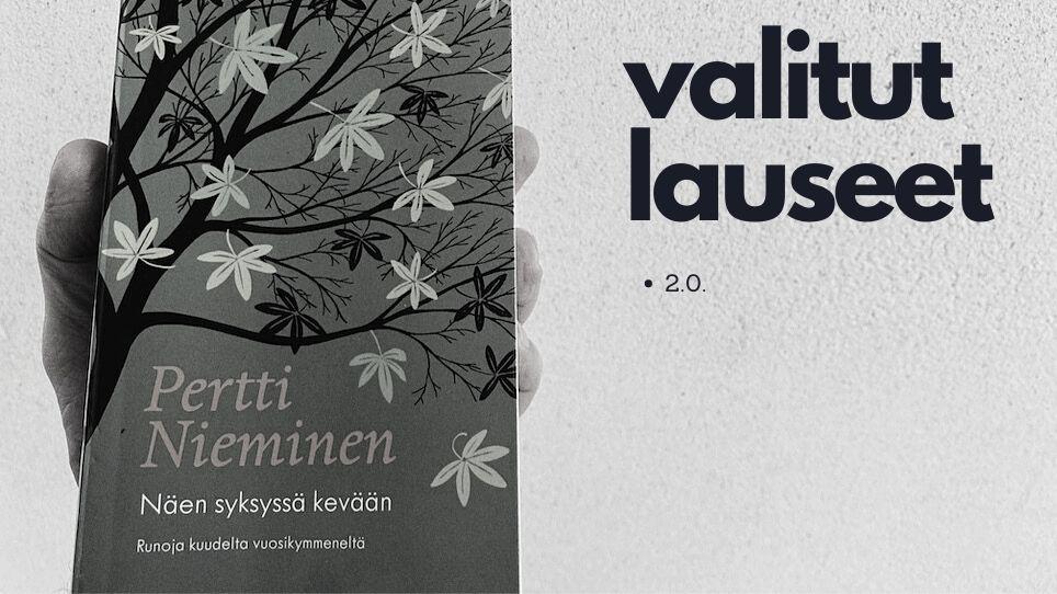 Pertti Nieminen: Näen syksyssä kevään